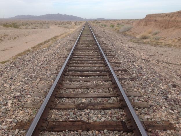 Walking three miles of track to beat trafic
