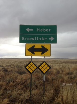30 miles for Easter ... Heber to Snowflake