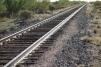 Rails we walked in the desert