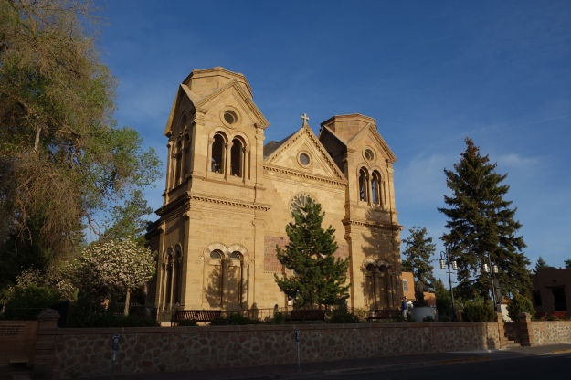 Sunday at Saint Francis Cathedral in Santa Fe