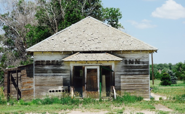 Haigler Nebraska A small farm town of 200 folks