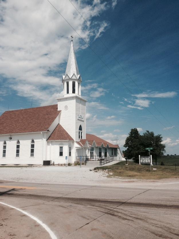 The church on Church Rd