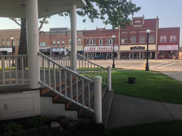 Iconic Americana in Iowa's small towns
