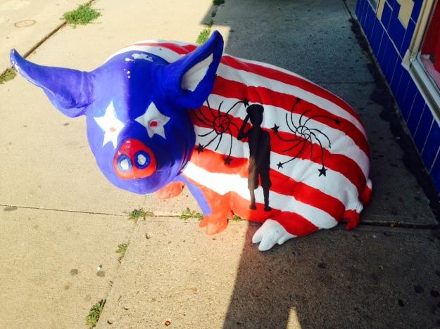 Pig patriot
