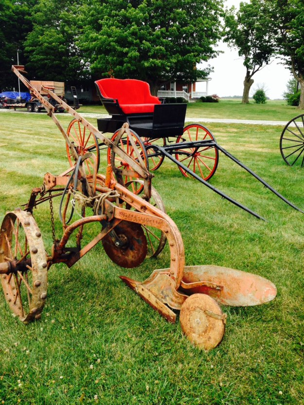 Farm implements near Upper Sandusky