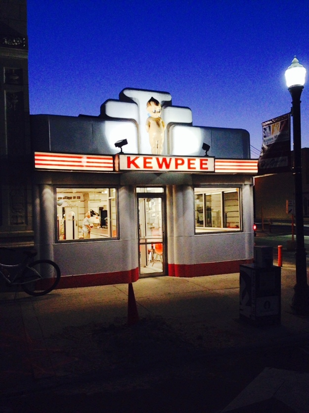 Kewpee's hamburger stand in Lima Ohio