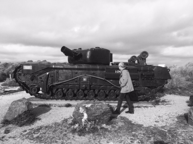 Royal Canadian Tank at Gold Beach